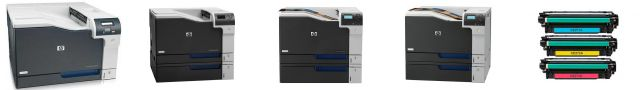 HP Color LaserJet Enterprise CP5525xh - снятие печки